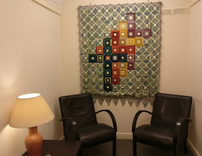 A counselling room